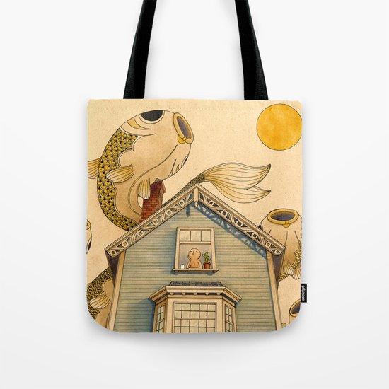 Fish Migration Tote Bag