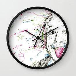 Einstein! Wall Clock