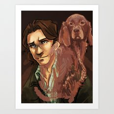 Sam | Irish Setter Art Print