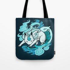 Ghostfire Fox Tote Bag