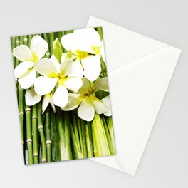 Frangipani of Bali Stationery Cards