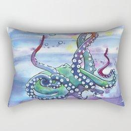 Bath Time Octopus Rectangular Pillow