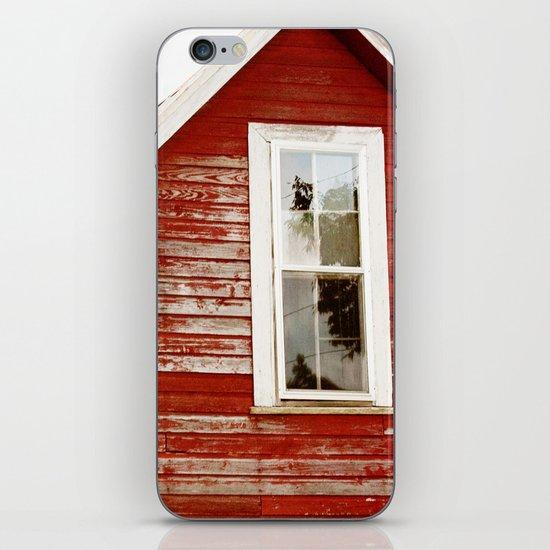 Red Barn Window iPhone & iPod Skin