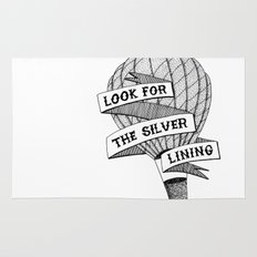 Look for the silver lining Rug