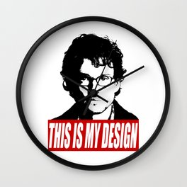 Hannibal - This Is My Design Wall Clock