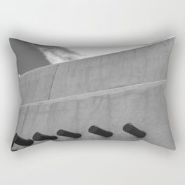 Shapes of Adobe Architecture Rectangular Pillow
