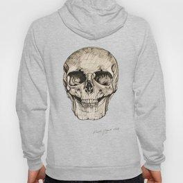 Human Skull En Face Hoody