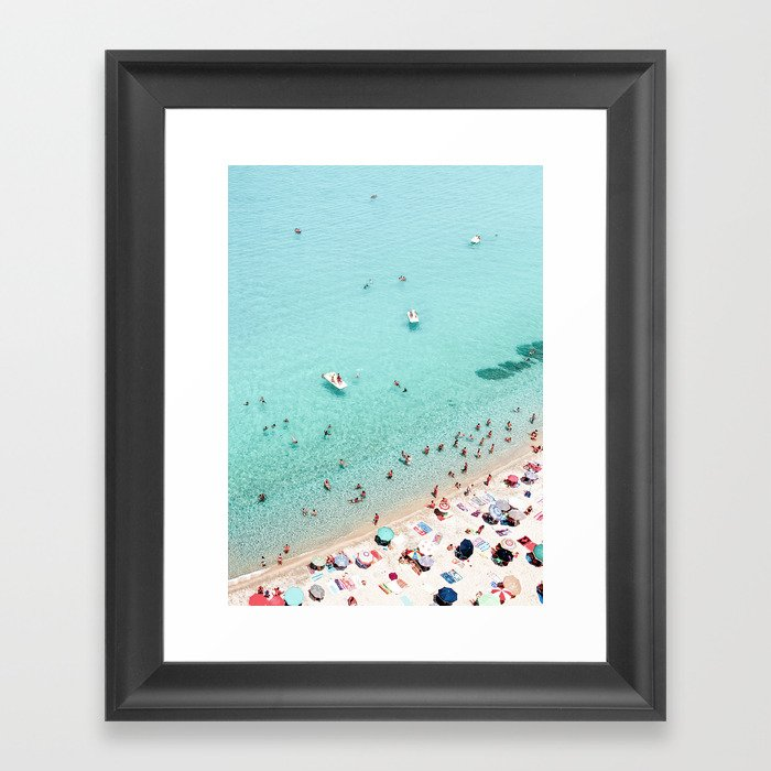 Beach Day Gerahmter Kunstdruck