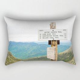 Explore the Appalachian Rectangular Pillow