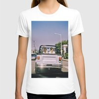 jeep T-shirts featuring Jeep by Warren Silveira + Stay Rustic