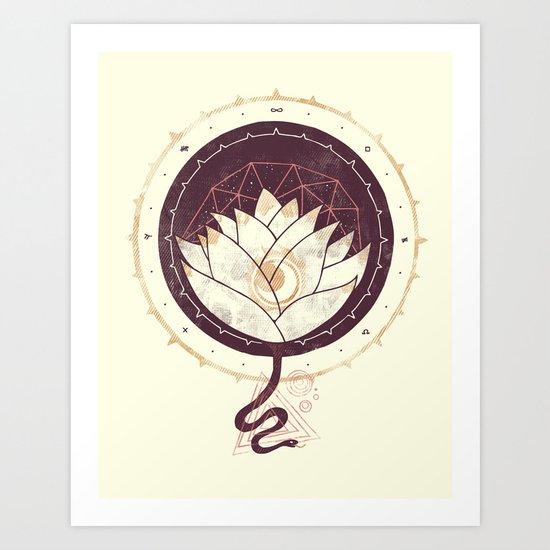 Lotus Art Print