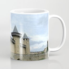 Entrance in the City of Carcassonne  Coffee Mug