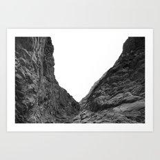 Valley of the Forsaken Art Print