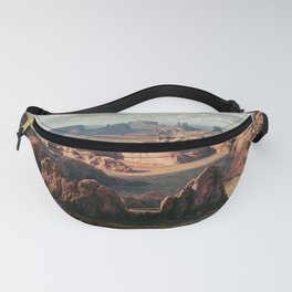 Monument Valley Overview Fanny Pack
