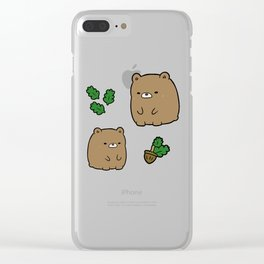 Little Bear Clear iPhone Case
