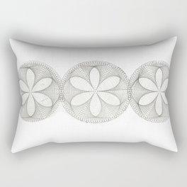 String Flower Rectangular Pillow
