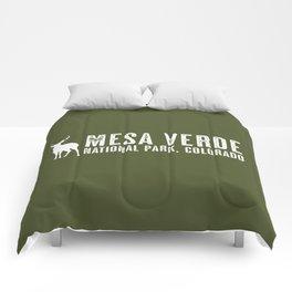 Deer: Mesa Verde, Colorado Comforters