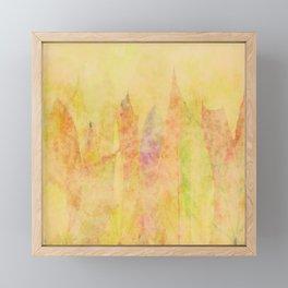 Flaming Autumn Framed Mini Art Print