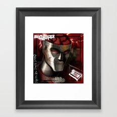 Chaos Plays the Notes - Album Cover Framed Art Print