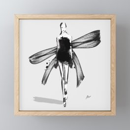 Flourish Framed Mini Art Print