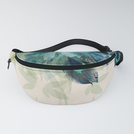Beautiful Peacock Feathers Fanny Pack