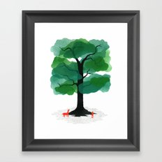 Man & Nature - The Tree of Life Framed Art Print