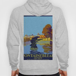 Vintage poster - Fontainebleau Hoody