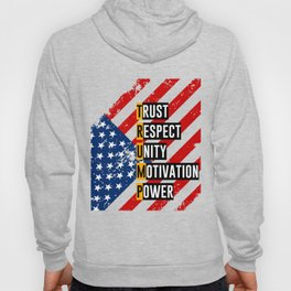 Re-Elect Trump for President. Keep America Great! Light Hoody