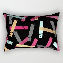 KISOMNA #3 (Black BG) Rectangular Pillow