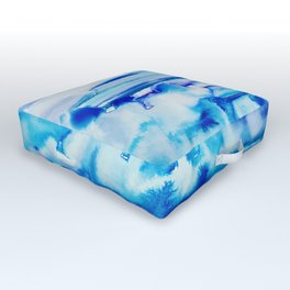 Forever in Blue Jeans Outdoor Floor Cushion
