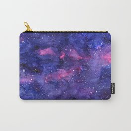 Galaxy Pattern Watercolor Carry-All Pouch