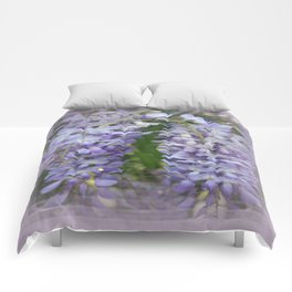 Lilac Wisteria  Comforters