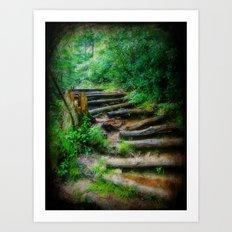 Follow Me to an Adventure Art Print