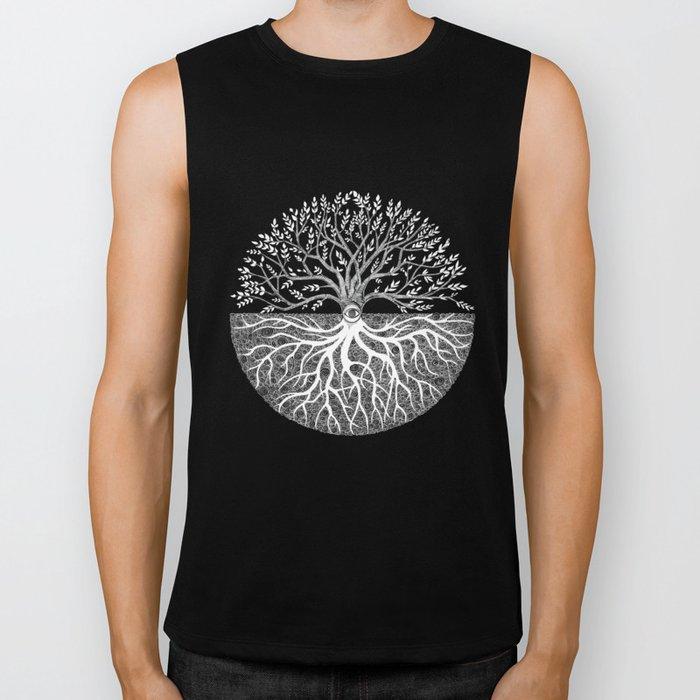 Druid Tree of Life Biker Tank
