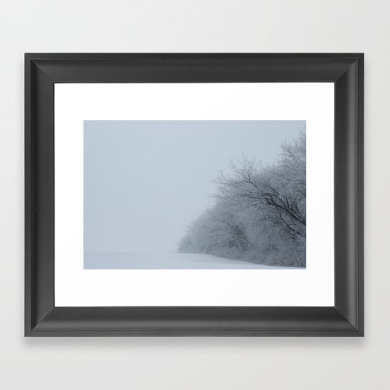 The Air Framed Art Print