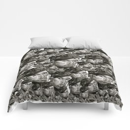 50 in Black and White Comforters