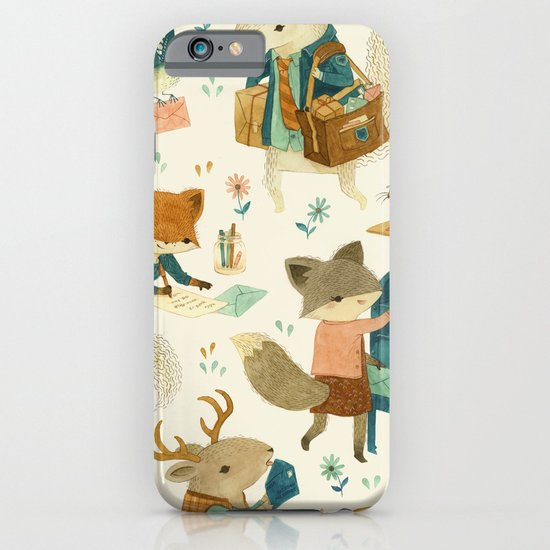 Critter Post iPhone & iPod Case