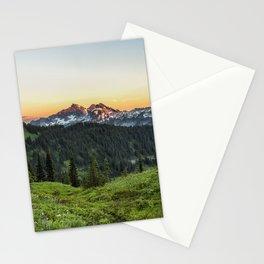 Looking Towards Tatoosh Range Stationery Cards