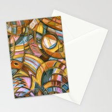 With Bird Biting Shirt Sleeve Stationery Cards