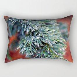 Pine After Rain 2 Rectangular Pillow