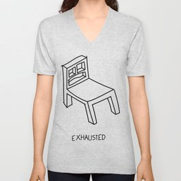 Bad Perspective Chair Unisex V-Neck