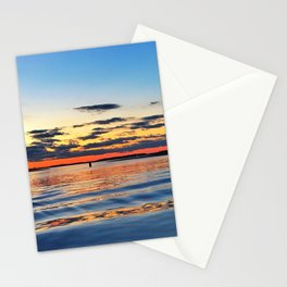 Sunset In the Hamptons Stationery Cards