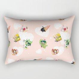 BnHA Café Rectangular Pillow