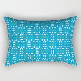 Daisies All in a Row  Rectangular Pillow