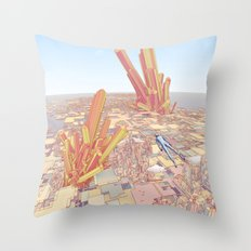 Merci pour tout, Monsieur Giraud Throw Pillow