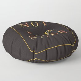 NOT FOR SALE Floor Pillow