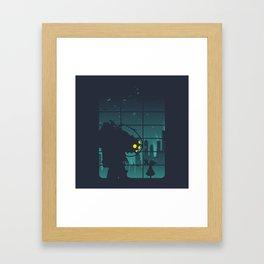 bioshock big daddy Framed Art Print