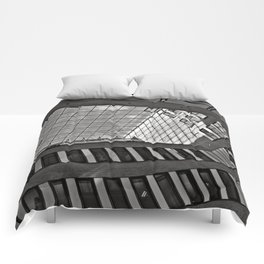 Modern Hamburg office building Comforters