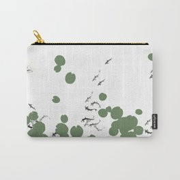 Life in lily pad pond Carry-All Pouch