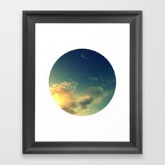 Toward A Secret Sky Framed Art Print